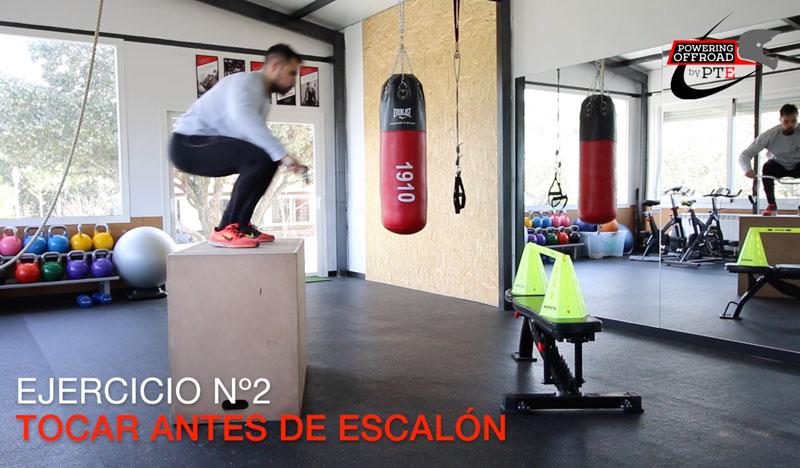 entrenamiento fisico ejercicios trial