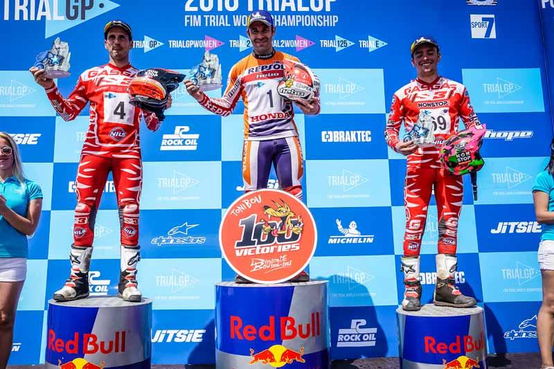 podium gp portugal trialgp