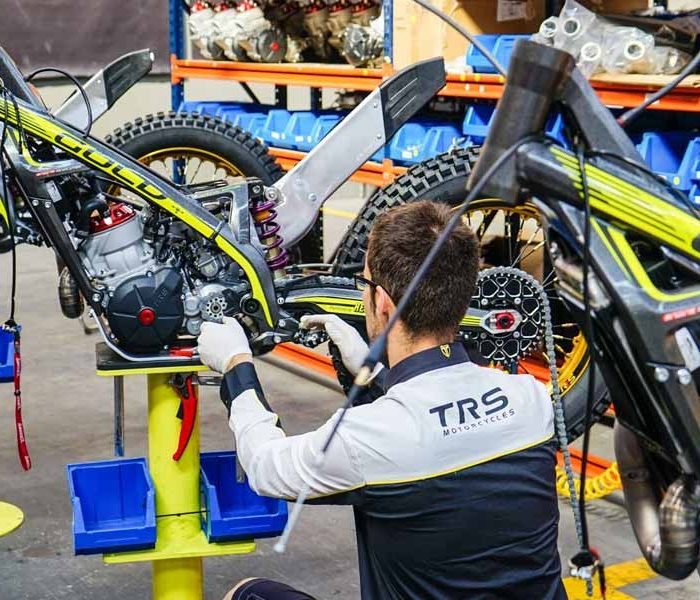 Así es la fábrica de TRS Motorcycles