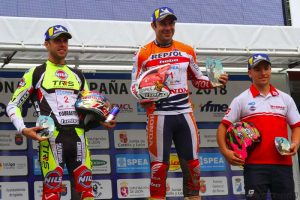 podium tr1 pobladura trial 2018