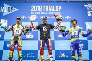 podium inglaterra trialgp 2018