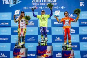 podium trialgpwomen inglaterra 2018
