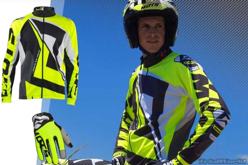 Chaqueta Mots Rider 3 2019 amarillo