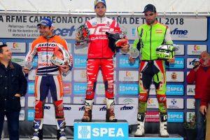 podium peñarroya cet 2018