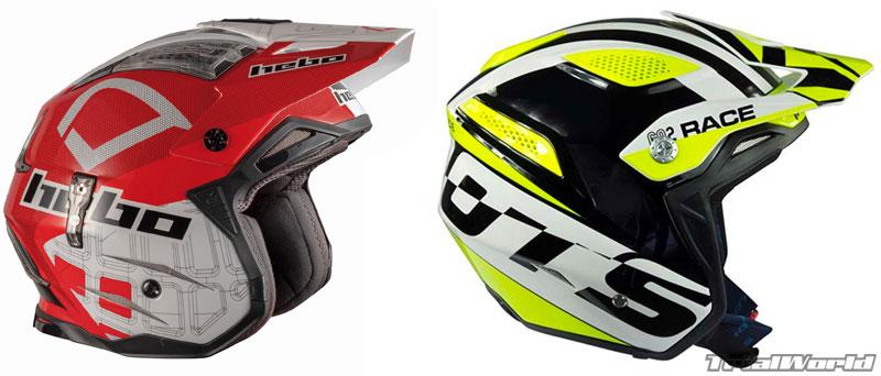 cascos moto trial