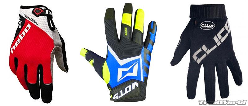 guantes moto trial
