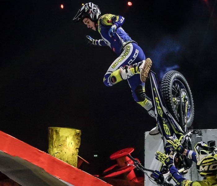 VIDEO | Recopilación caídas moto de trial 2019