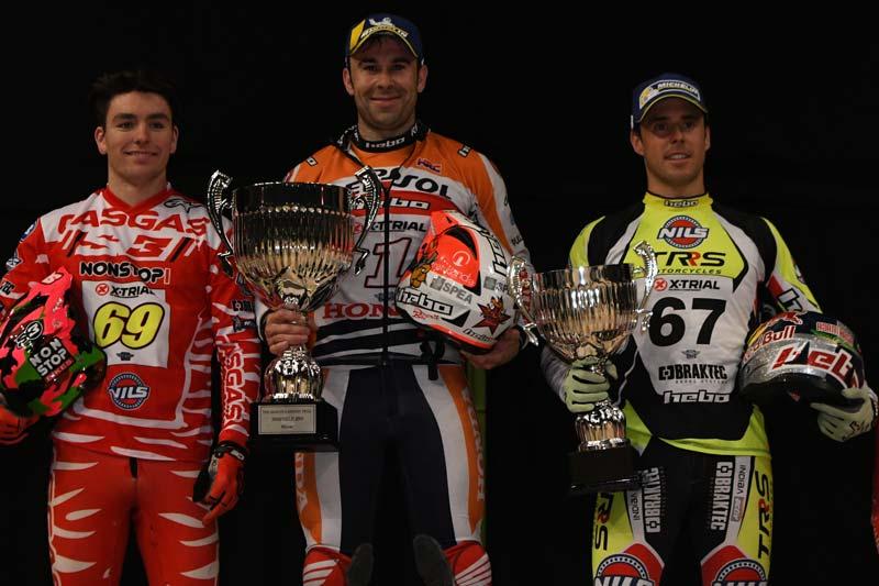podium x-trial sheffield 2019