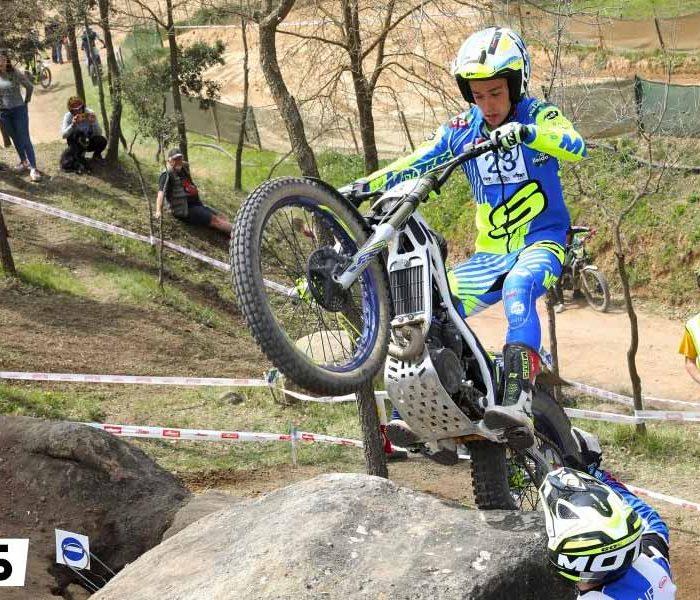 Sergio Ribau brilla en el CET de Olván
