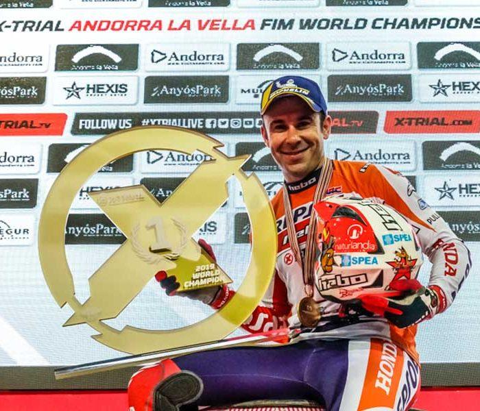 Sólido triunfo de Toni Bou en el X-Trial de Andorra