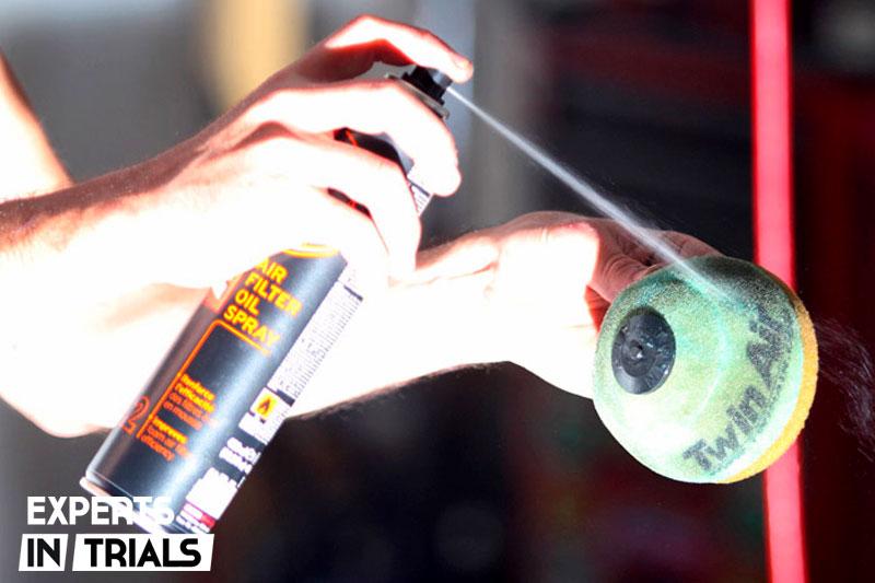 filtro aire moto trial