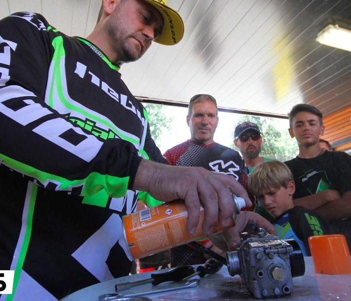 5 claves para el mantenimiento de una moto de trial