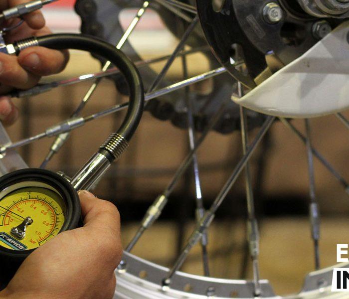 Presiones de los neumáticos en motos de trial