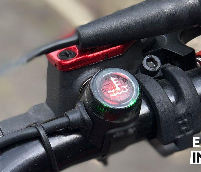 Montaje del sensor de temperatura en motos de trial