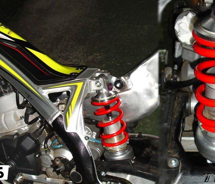 Adaptación de amortiguador Showa en una TRRS