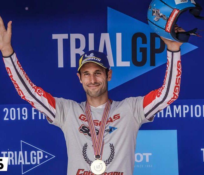 Cabestany Campeón del Mundo de Trial E 2019