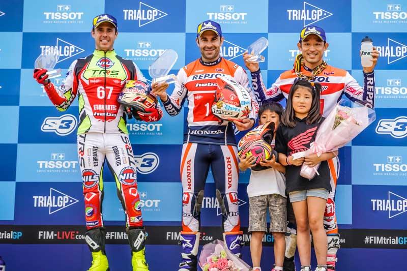 podium trialgp japon 2019