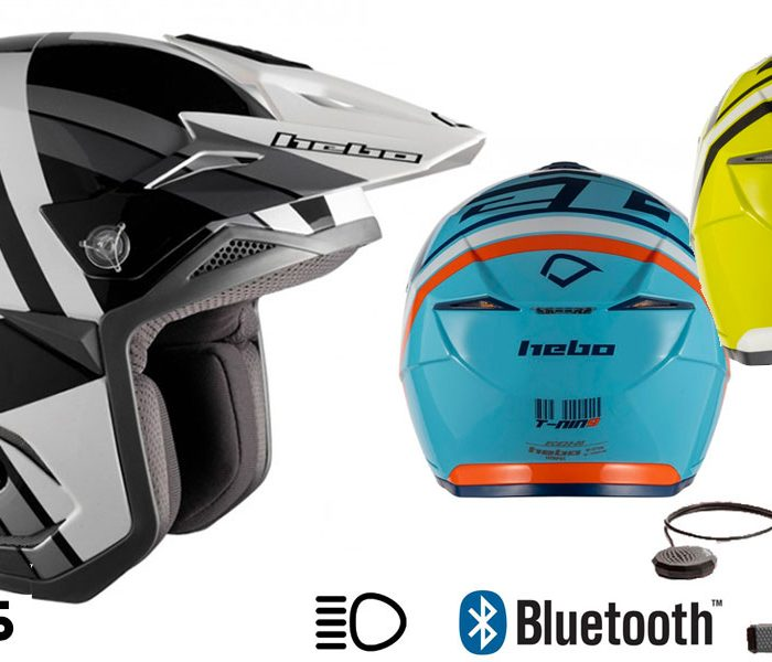 Casco Hebo Zone 5 con sistema Bluetooth