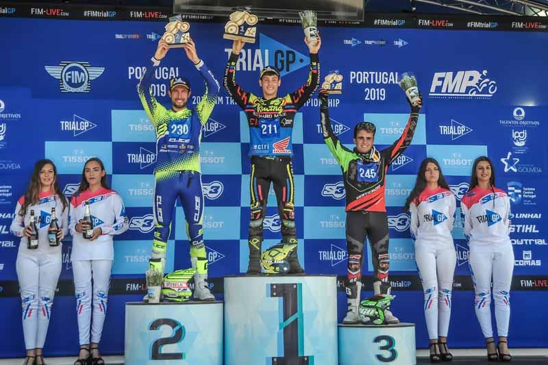 podium trial2 portugal