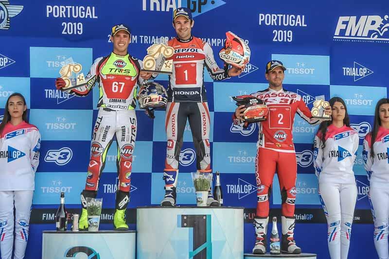 podium trialgp portugal