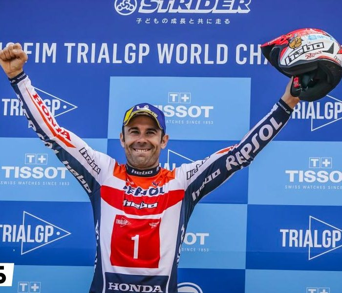 Toni Bou Campeón del Mundo de TrialGP 2019