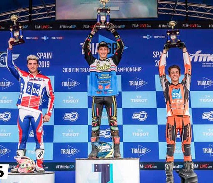 Gabriel Marcelli Campeón del Mundo de Trial2