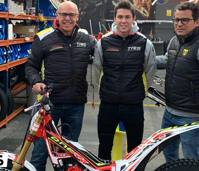 Arnau Farré regresa al Mundial con el apoyo de TRS Motorcycles