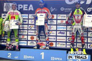 podium cet trial tr1 2019