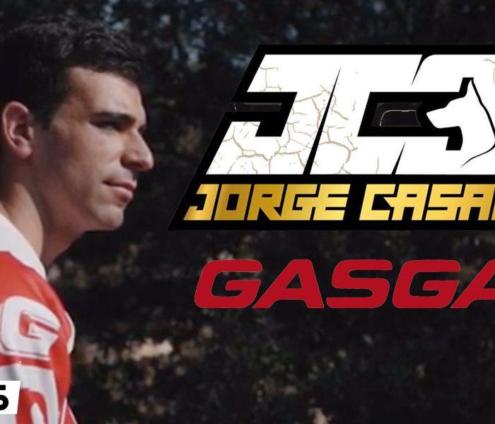 VIDEO | Primer entreno de Jorge Casales con la Gas Gas TXT 2020