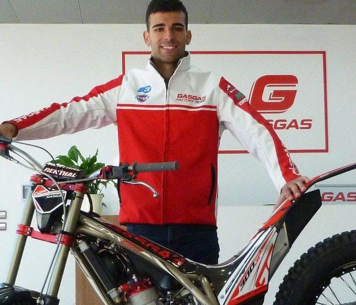 Jorge Casales piloto Gas Gas para las temporadas 2020 y 2021