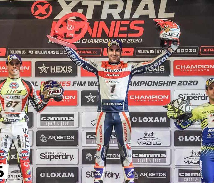 Toni Bou más líder tras vencer el X-Trial de Rennes