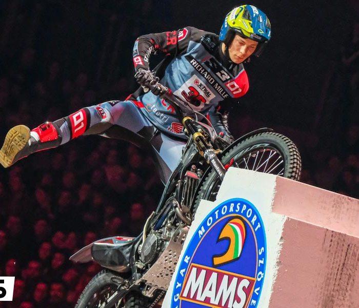Gabriel Marcelli sorprende con un podium en el X-Trial de Budapest