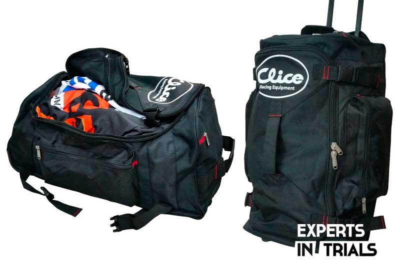 maleta clice equipamiento trial