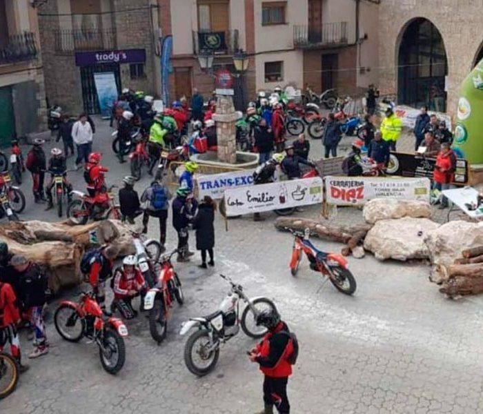 El Nacional de Trial Clásico arrancó en Castielfabib