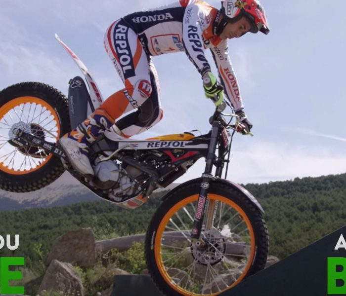 Moto de Trial VS Mountain Bike: Toni Bou & Antoine Buffart